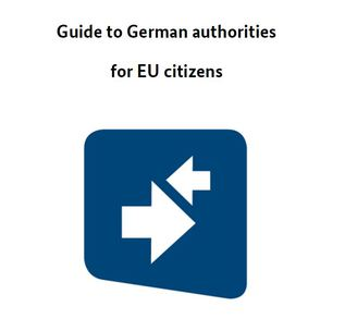Cover sheet Guide to german authorities